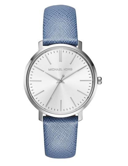Relógio Michael Kors Prateado e Branco Senhora