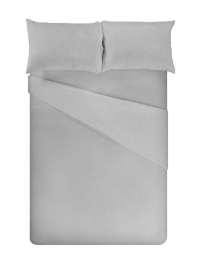 Jogo de Cama Micro C/capa ajustável Cinza