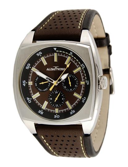 64f365a0a9b Relógio Albatross Urban Grunge Castanho