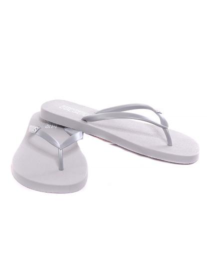 Chinelos Shoe Colors de mulher Prata