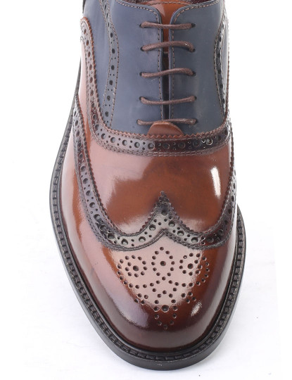 Sapato De Homem Deckard azul e castanho, até 2015 10 07