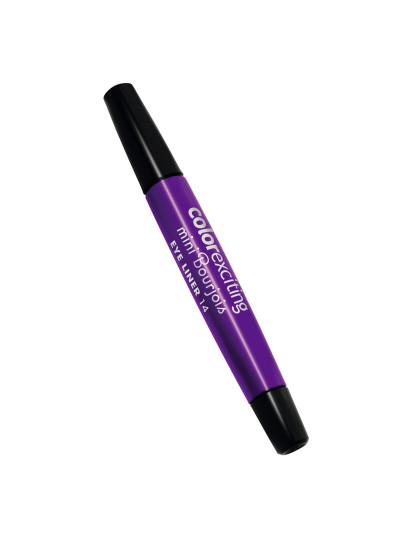 Mini Eyeliner Color Exciting Violet Métal