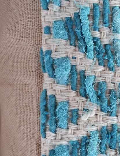 Capa de Almofada Mosaico Aqua