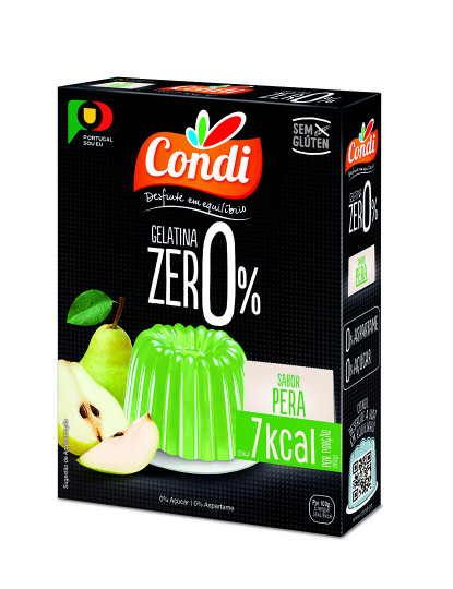 Gelatina Zero Pera 28G Condi