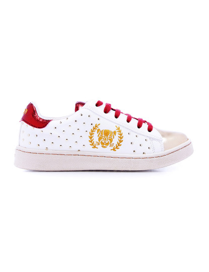 Ténis Xyon Ladybug Girl Menina Branco e Vermelho, até 2020 01 22
