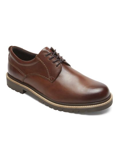 9e05acd66 Sapato Rockport Marshall Oxford Castanho, até 2018-10-02