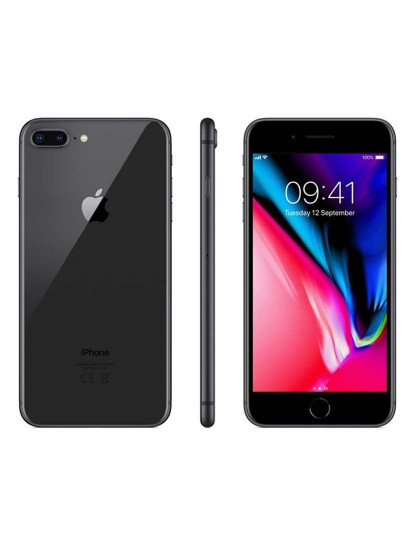 Apple iPhone 8 Plus 64 GB Space Gray Grau A