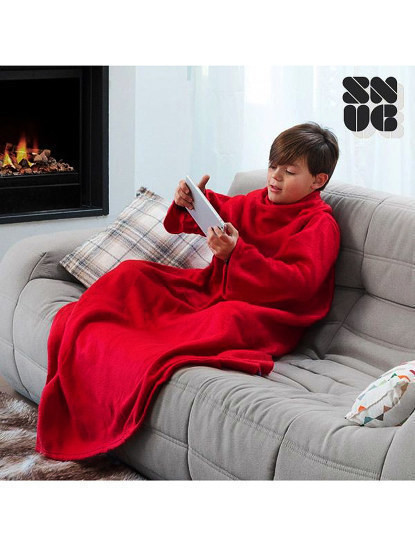 Cobertor Com Mangas Para Crianças