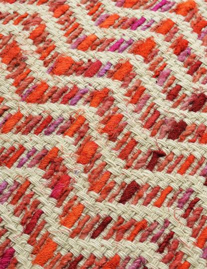 Capa de Almofada Mosaico Orange Harmony