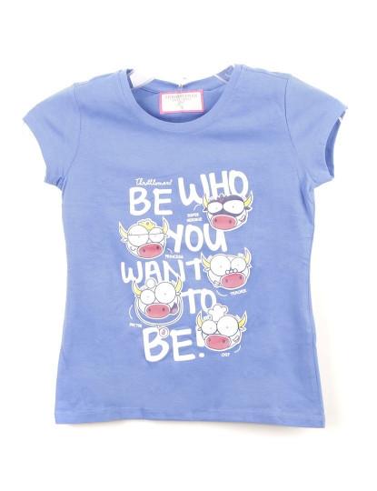T-Shirt Regular Fit Funny Throttleman Rapariga 507