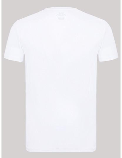 T-shirt Decote Redondo Ralph Lauren Homem Branco