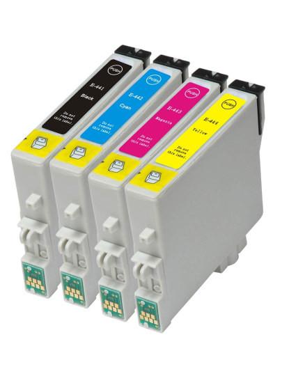 Tinteiros compatíveis Epson T0611/2/3/4 Pack 4 Tinteiros
