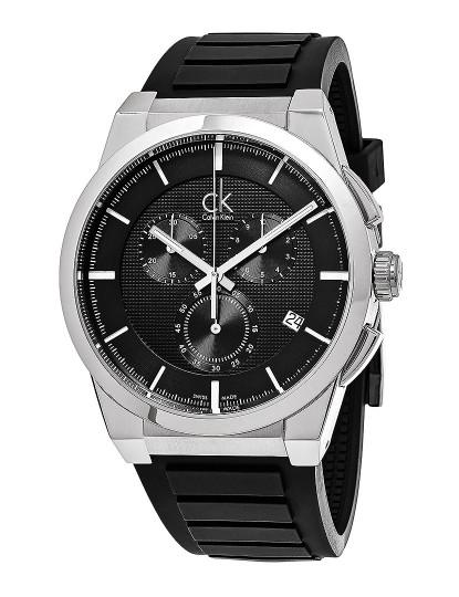 7c6448b9016 Relógio Homem Calvin Klein Dart Preto