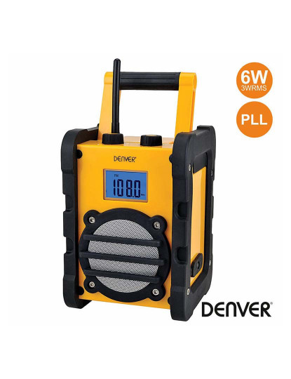 Rádio Robusto Denver PLL 3WRMS