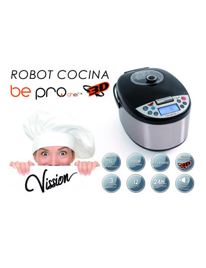 Robot Pro Chef Vission