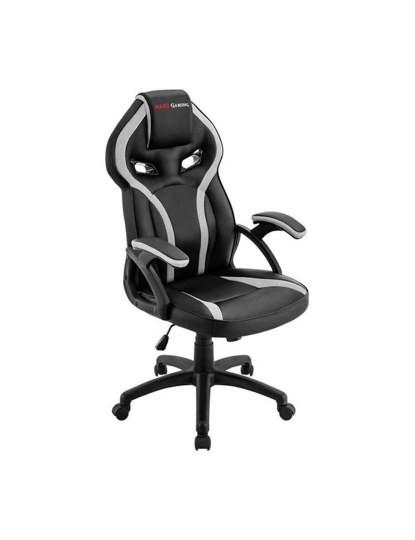 Cadeira de Gaming Preto e Branco