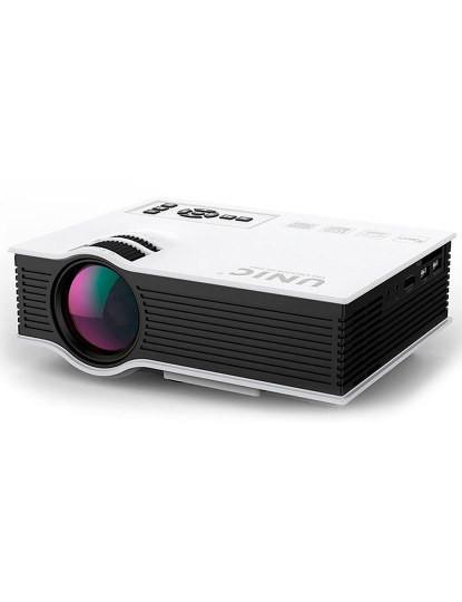 Troque a sua Televisão por um Mini Pico Projector c/ comando com uns Impressionantes 130 polegadas!