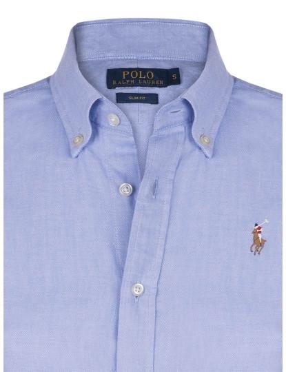 f1ec861edb Camisa Ralph Lauren Oxford Senhora Azul