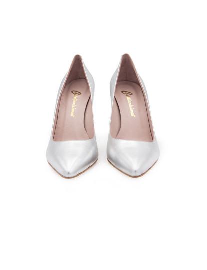 Sapatos Salto Alto Pele Prateado , até 2019 04 22