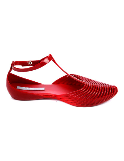 Sandálias Gold Vermelhas