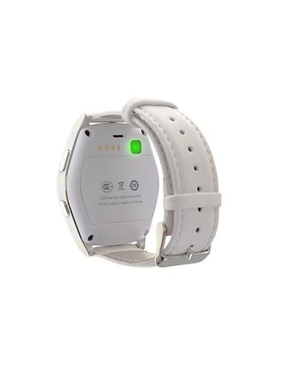 Smartwatch Bluetooth G5 Branco e Prateado
