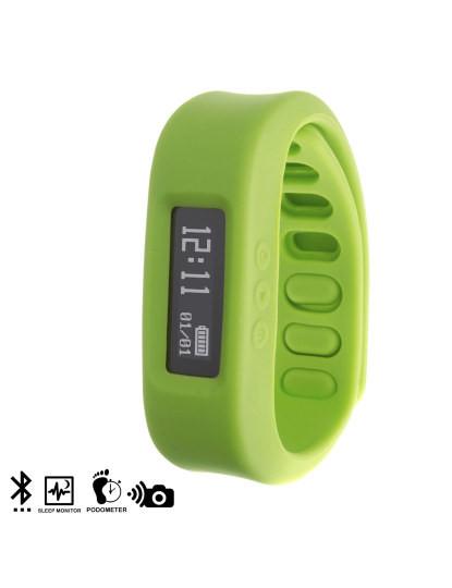 Pulseira Digital Bio Active Bluetooth Verde
