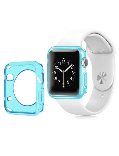 Capa de silicone para Apple Watch 42mm Azul