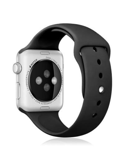 Bracelete silicone para Apple Watch 38mm