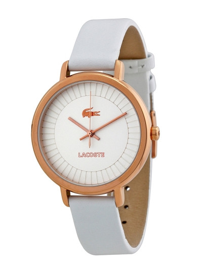 1402dde746b Relógio Lacoste Nice Branco Senhora