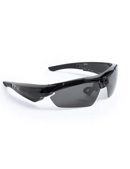 Óculos de sol c/ câmara integrada (alta qualidade proteção UV400) - Preto