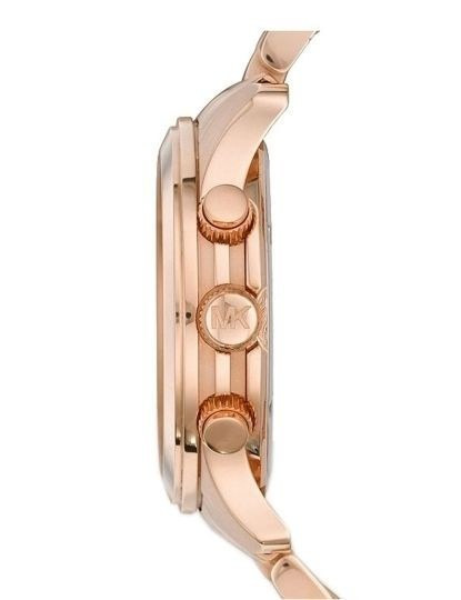 Relógio Michael Kors Homem Runway Dourado Rosa