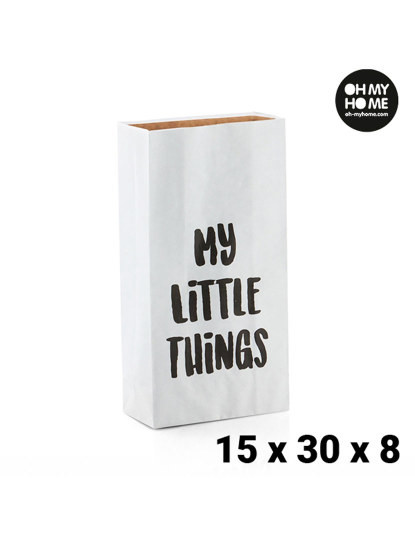 Saco de Papel Pequeno Oh My Home (15 x 30 x 8 cm)