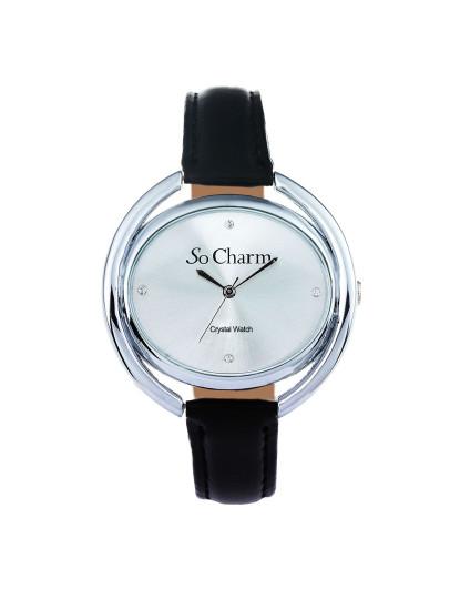 865e32e5851 Relógio de Senhora com 4 cristais Swarovski by So Charm®