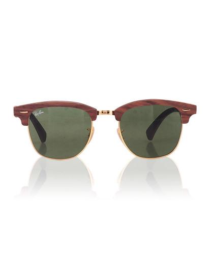 Óculos Ray-Ban Clubmaster Wood Castanho, até 2017-01-10 363cade4d1