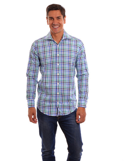 Camisa Manga Comprida Throttleman Homem Multicolorido