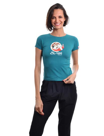 T-Shirt Regular Fit Natal S Throttleman Azul