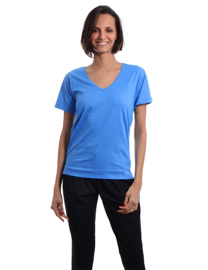 T-Shirt Regular Fit Casual Throttleman Azul