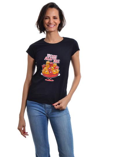 T-Shirt Regular Fit Funny Aniv Throttleman 110