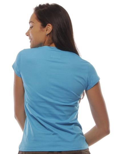 T-Shirt Regular Fit Funny Aniv Throttleman Azul