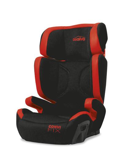 Cadeira de Automóvel G23 CONVI FIX Asalvo Preta