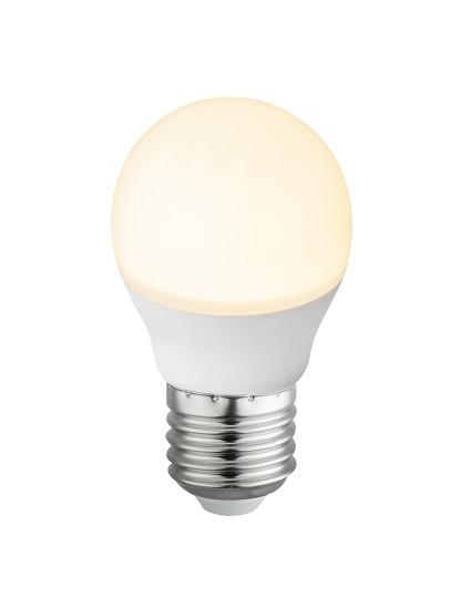 Lâmpada LED Globe Plástico Opala