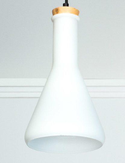 Candeeiro suspenso para lâmpada LED E27 GPW D170mm