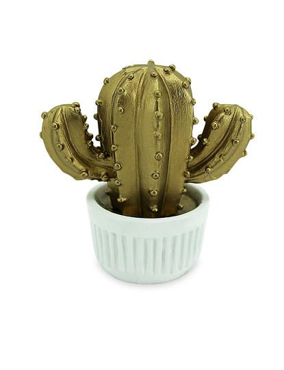 Conjunto de 4 decorações Cactus