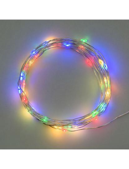 Fita De Luzes, 20 Microleds Multicolor Ø1,5Mm