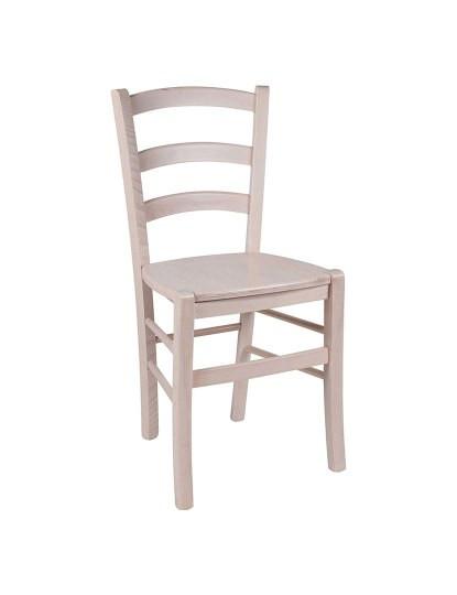 Cadeira fundo em Madeira Bege