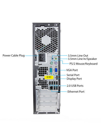 ComputadorRecondicionado HPCompaq8100 EliteW7 Pro