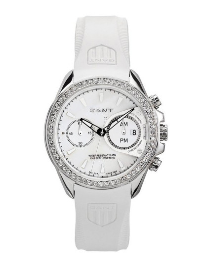 b858bc3459a Relógio Gant Bedstone Lady Branco E Prata Senhora