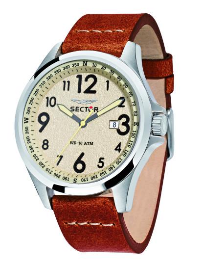 ceea8b0c884 Relógio de Homem Sector 180 Castanho