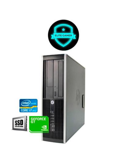 Recondicionado HP Compaq 8300 Elite i7, 8GB RAM, Disco SSd, Nvidia GTX 1050 2GB
