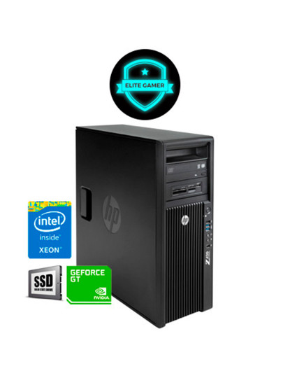 Recondicionado HP Z420 TWR - Xeon QuadCore, 8GB RAM, Disco SSd, Nvidia GT 1030 2GB